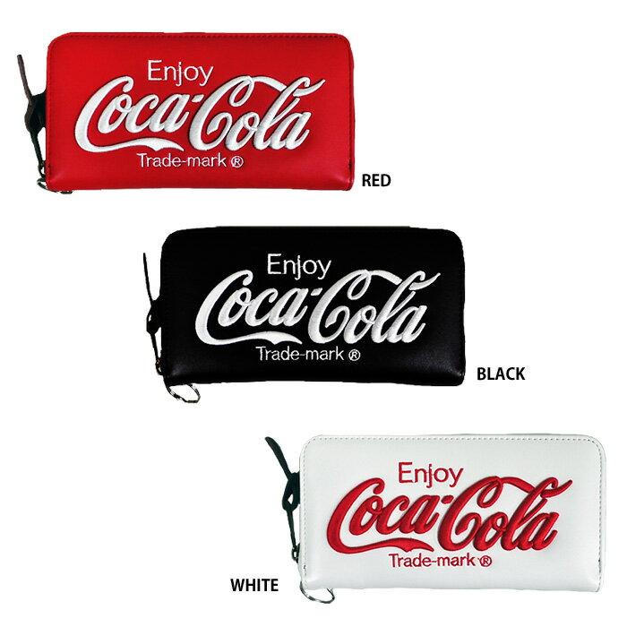 あす楽 イーカム 長財布 コカ・コーラ Coca-Cola ウォレットチェーン付き COK-WLT02