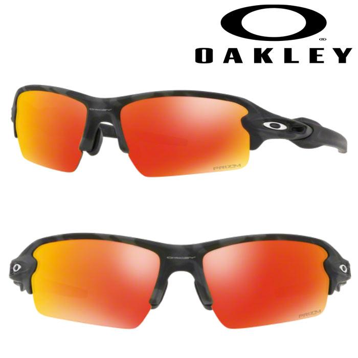 あす楽 OAKLEY オークリー サングラス FLAK 2.0 (ASIA FIT) PRIZM RUBY BLACK CAMO OO9271-2761 oak18fw
