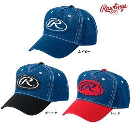 ローリングス デニムキャップ 帽子 AAC9S02 raw19ss