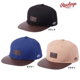 ローリングス フラットバイザーキャップ 帽子 AAC9S03 raw19ss