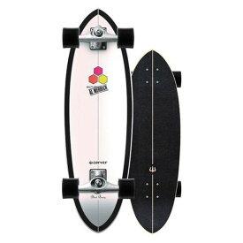 "CARVER スケートボード 31.75"" CI Black Beauty Surfskate Complete CX4 TRUCKS 日本正規品 カーバースケートボード サーフスケートボード コンプリート 送料無料"