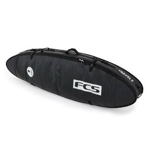 "FCS TRAVEL 3 ALL PURPOSE 6'3"" Black/Grey SURFBOARD COVER 3本用 FCS ショートボード ボードケース オール パーパス 6'3 ハードケース 送料無料!"