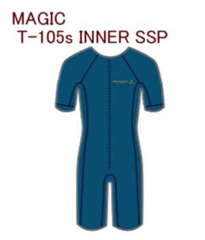 2019 MAGIC T-105s INNER SSP 冬用インナー マジック 半袖スプリングマジック インナー 送料無料