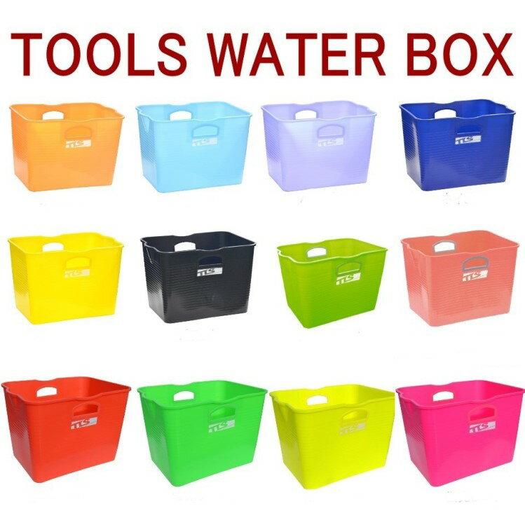 【サーフィン バケツ】 TOOLS WATER BOX ウォーターボックス 四角いバケツ TLSウォーターBOX サーフィン バケツ