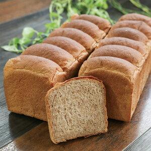 全粒粉100%食パン 4斤 24枚(6枚切) 九州産小麦 無添加 ココナッツオイル使用 水素水仕込み