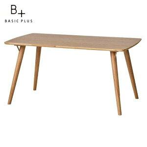 テーブル ダイニングテーブル オーク材 ライトブラウン 幅140 奥行80 高さ70 CLONE DINING TABLE 140 (WO-V-LBR) ISSEIKI 101-01970