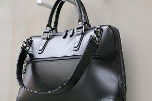 ビジネスバッグビジネスバッグメンズビジネスバッグブリーフケースビジネスバックビジネス鞄軽量レザー防水A4ビジネスバッグ通勤ブラック