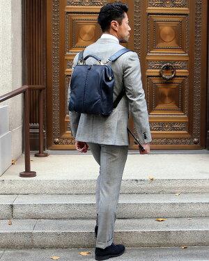 ダレスバッグドクターズバッグレザーメンズ日本製豊岡ビジネスリュックビジネスバッグ3way軽量ダレスリュックA4PCバッグ馬革コードバン姫路本革YOUTAヨータ