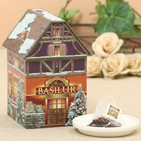CHRISTMAS HOUSE【セイロンティー/フレーバーティー/かわいい/アンティーク/ティーバッグ/クリスマス/紅茶/ギフト】