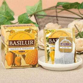 【マンゴー&パイナップル(ティーバッグ10袋)】紅茶 水出し アイスティー セイロンバシラーティー basilurtea