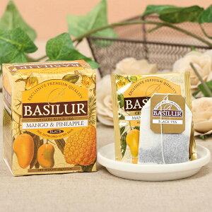 【マンゴー&パイナップル(ティーバッグ10袋)】紅茶 水出し アイスティー セイロンバシラーティー basilurtea ティーパック