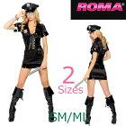 4102ポリス婦人警官コップ6ピースセットパーティーハロウィン衣装/RomaCostumeローマコスプレ・仮装・ハロウィン・女性・大人用