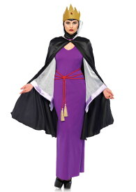 c109023e769c1 白雪姫の継母 魔女のコスチューム4点セット 仮装コスチューム コスプレ  LEG AVENUEレッグ