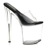 SOL-801-O8インチ(約20cm)ハイヒールピンヒールミュールサンダル/Pleaserプリーザーパーティードレス靴【送料無料】