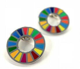 SDGs 国連本部限定 ピンバッジ 2個セット UN 正規品