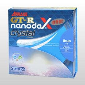 ●サンヨーナイロン アプロード GT-R ナノダックス クリスタルハード (2lb-4lb) 【メール便配送可】 【まとめ送料割】