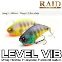 RAID JAPAN レイドジャパン LEVEL VIB レベルバイブ (2) 【メール便配送可】
