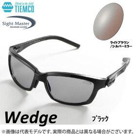 ●ティムコ サイトマスター ウェッジ ブラック(ライトブラウン/シルバーミラー) 【まとめ送料割】