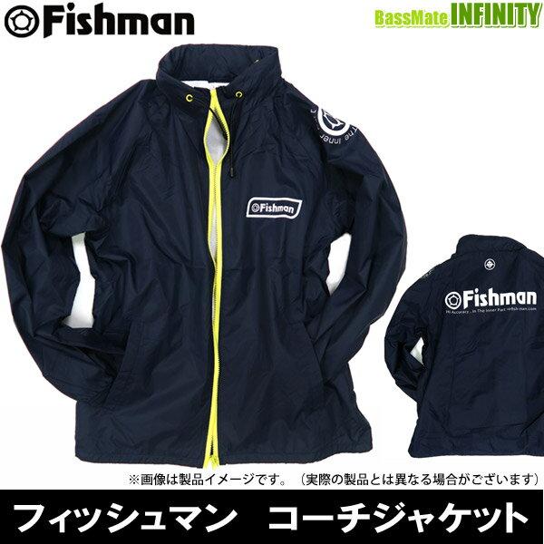 ●Fishman フィッシュマン コーチジャケット (ネイビー) 【まとめ送料割】