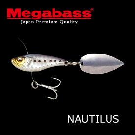 【在庫限定20%OFF】メガバス ノーチラス NAUTILUS 【メール便配送可】 【まとめ送料割】【bs04】