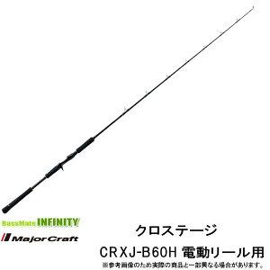 ●メジャークラフト クロステージ CRXJ-B60H 電動リール用モデル