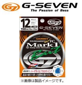 ●G-SEVEN ジーセブン G7 トーナメントジーン MARK1 ベイト フロロカーボン 150m (14-20LB) 【メール便配送可】 【まとめ送料割】