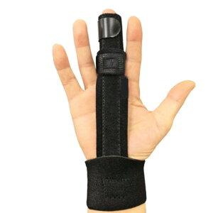 サポーター 指サポーター ばね指 突き指 骨折 指関節 腱鞘炎 フィンガーサポーター リハビリ 指 ギプス 固定 人差し指 手 親指 中指 薬指 小指 左右兼用 男女兼用 フリーサイズ 手首 黒 野球