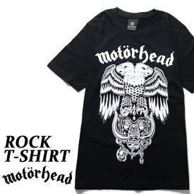 Motorhead Tシャツ モーターヘッド ロックTシャツ バンドTシャツ 半袖 メンズ レディース かっこいい バンT ロックT バンドT ダンス ロック パンク 大きいサイズ L XL 春 夏 おしゃれ Tシャツ ファッション