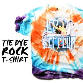 ロックTシャツ 半袖 Led Zeppelin たいだい柄 tシャツ レッドツェッペリン バンドTシャツ メンズ レディース ロックT バンドT バンT ロゴ バンド ロゴT ダンス ミュージック ファッション ROCK ブラック ホワイト 黒 ヘヴィメタ コットン 綿 100% 春夏 夏物 おしゃれ