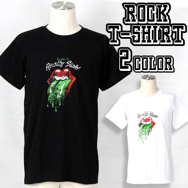 ロックTシャツ バンドTシャツ The Rolling Stones ザ ローリング ストーンズ メンズ 夏用 コットン100% M-XL