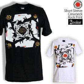 ロックTシャツ 半袖 Red Hot Chili Peppers Tシャツ レッドホットチリペッパーズ レッチリ バンドTシャツ メンズ レディース パロディ Tシャツ おもしろ ロゴ 衣装 ダンス ファッション ブラック ホワイト 黒 白 コットン 綿 100% 春夏 夏物 おしゃれ