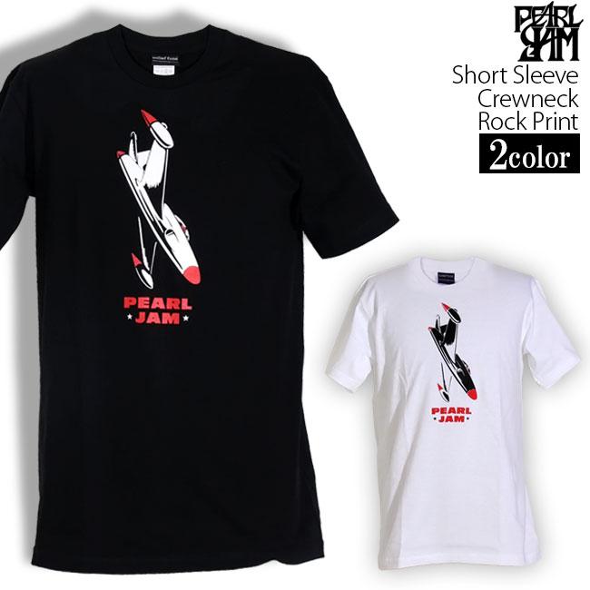ロックTシャツ 半袖 Pearl Jam Tシャツ パールジャム バンドTシャツ メンズ レディース ロックT バンドT バンT ロゴ バンド ロゴT ダンス ミュージック ファッション ROCK ブラック ホワイト 黒 白 ヘヴィメタ コットン 綿 100% 春夏 夏物 おしゃれ