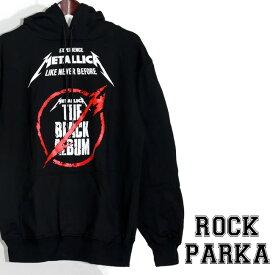 【送料無料】 ロックパーカー Metallica パーカー メタリカ プルオーバー 裏起毛 パーカ メンズ レディース バンド スウェット 衣装 ロゴT フード トレーナー ダンス ミュージック ファッション ROCK 秋冬 冬服 コットン 綿 100% ブラック 黒 M-2XL