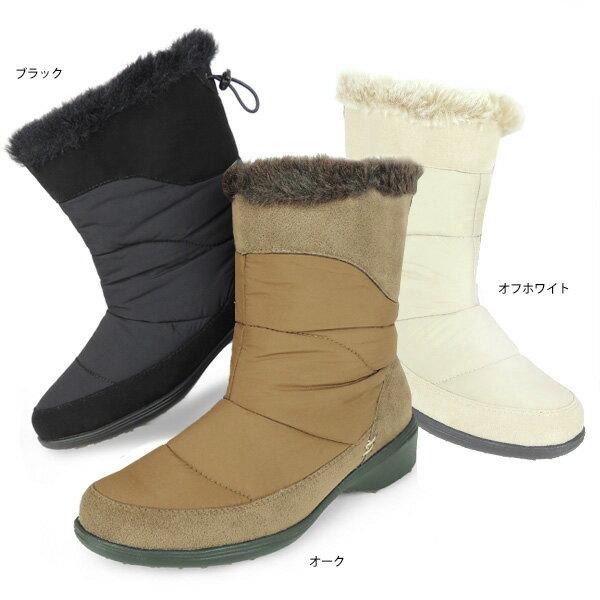 No.576252 クロールバリエ ブーツ セール ボア 撥水 ショートブーツ(女性用 アンクル ショート丈 暖かい ウォーキング 耐滑ソール 内側ボア ファー 軽い ブラック 水 )