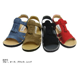 Casual Sandals no.767/ machine washable. Tassel style decoration which was cute. Convenient Velcro strap! fs04gmapap8 10P03Sep16