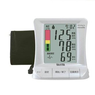 'Tanita' blood pressure monitor upper arm type blood pressure monitor (arm with expression and Pearl White) [BP-221]