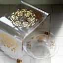 【送料無料】アクリルバスチェア セット「グラマラス」バスチェア&洗面器2点セット【26型 アクリル バスチェア セッ…
