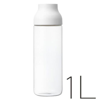 "Water carafe ""KINTO"" CAPSULE (1 L / white) [217018]"