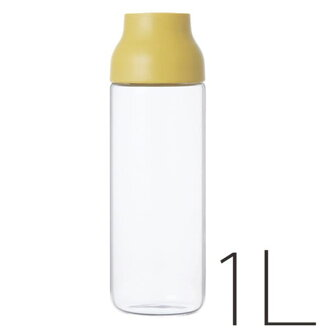 "Water carafe ""KINTO"" CAPSULE (1 L / yellow) [217019]"