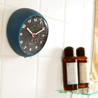 "Drip-proof bus clock ""プレージョ"" shower clock"