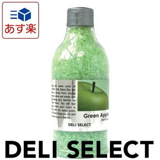 목욕 소금/데리 셀렉트 350 g(그린 애플)
