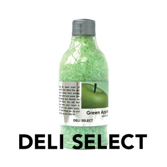 Bath salts/deli select 350 g (Green Apple)