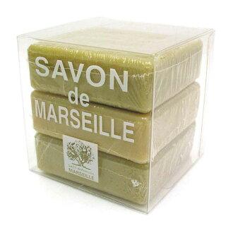 公司德普罗旺斯马赛皂 100 g × 3-包 [806001]