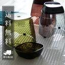 日本製 バスチェア セット「GLASSCA(グラスカ)」バススツール ウォッシュボール 2点セット【バスチェアー 風呂イス 洗面器 湯桶 バスグッズ バス用品 クリア グレー ブラウン グリーン 国産