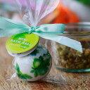 入浴剤「ミニバスボール」グリーンアップの香り(グリーン)【バスボム バスフィズ 可愛い キュート ローズ バラ ばら…