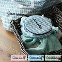 洗濯ネット「Cleanlaundry」ランドリーポーチ(ラウンド)【メッシュポーチ トラベルポーチ 下着ネット ランジェリーケース かわいい】