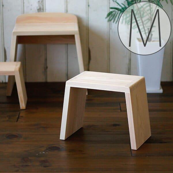 バスチェアー/とちぎ桧椅子(M)【バスチェア ひのき バスチェア 日本製 風呂椅子 木製 風呂いす ヒノキ】