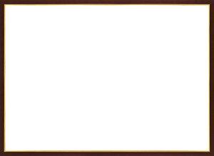 木製パズルフレーム ウッディーパネルエクセレント ゴールドライン ブラウン(38x53cm)