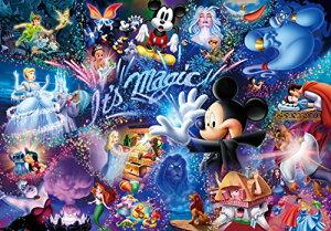 【10/20限定★エントリー&Rカード決済で店内全品ポイント最大11倍】1000ピース ジグソーパズル ディズニー It's magic! 【ホログラムジグソー】 (51x73.5cm)