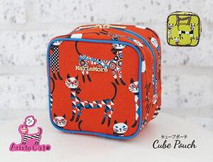 【 メール便 送料無料 】 【 あす楽 可】 メアリーモア 猫柄 かわいい 収納 ポーチ ケース お誕生日やプレゼントに喜ばれる人気の商品 日本製 レディース ポーチ mm-0037ca